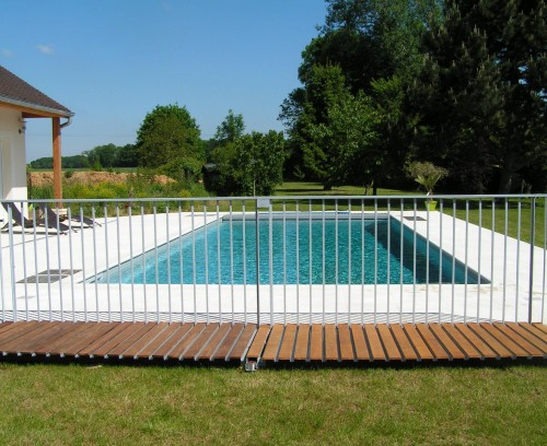 - Barriere piscine escamotable ...